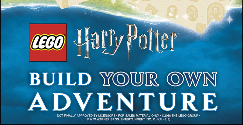 More LEGO Harry Potter Books With Free Minifigures Coming in 2019!