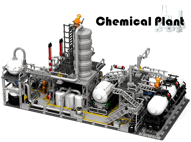 LEGO Product Idea Chemical Plant