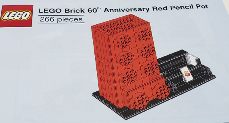 Here's Your Chance to Build Your Own LEGO 60th Anniversary Commemorative Pen Holder