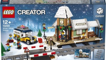 Previously Released LEGO Creator Winter Village Sets Available Again