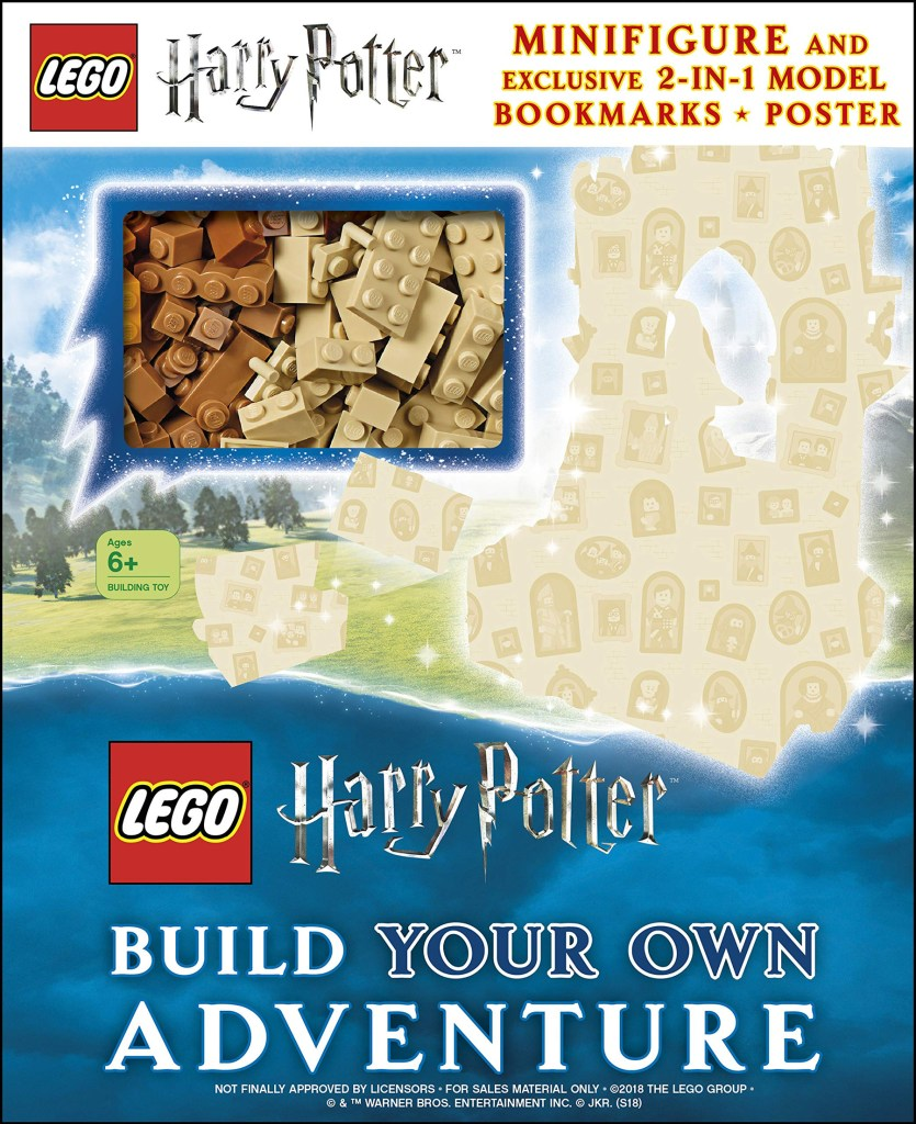 LEGO Harry Potter Books With Free Minifigures