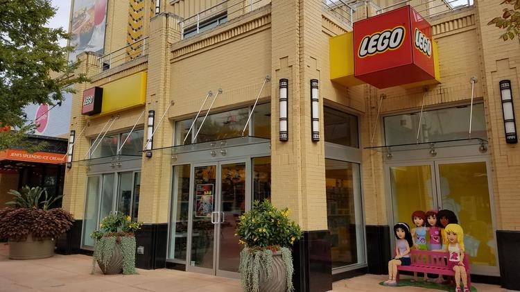 New LEGO Stores