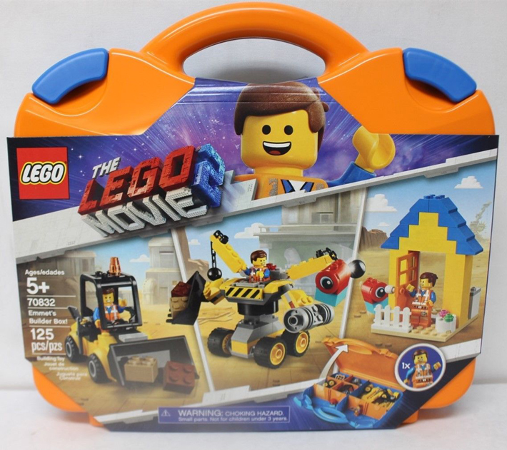 First Look At The Lego Movie 2 Emmet S Builder Box 70832