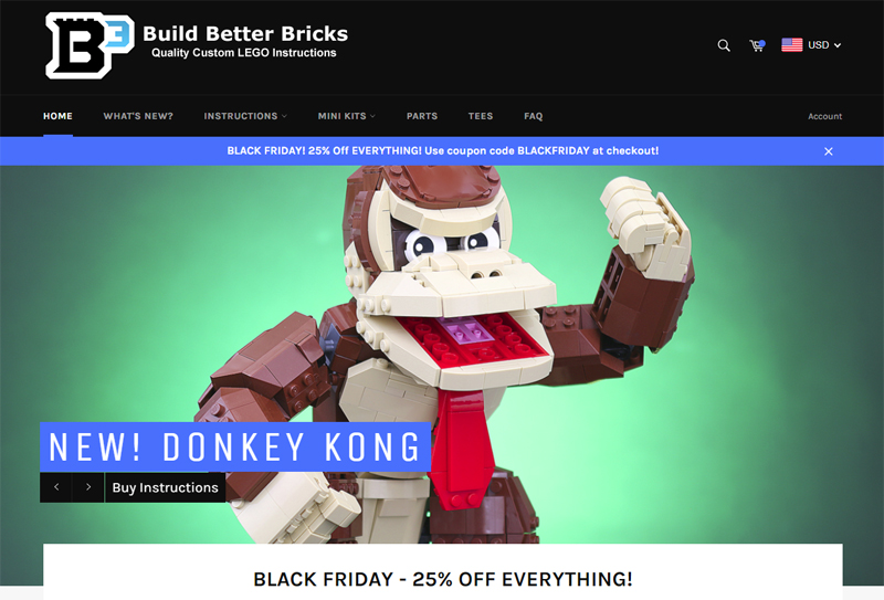 Build Better Bricks Black Friday