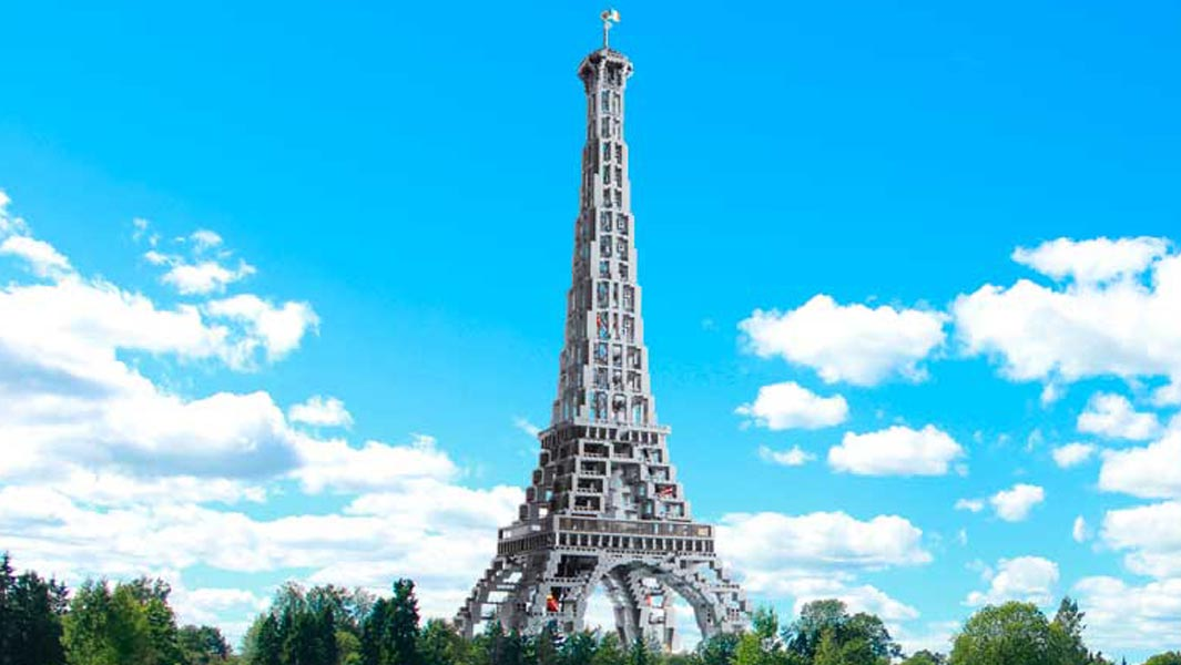 Another Guinness WR 2019 LEGO Set Giveaway: Eiffel Tower (10181; Tallest Iron Structure)