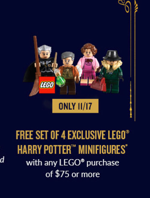 LEGO Bricktober Harry Potter Minifigures (5005254)