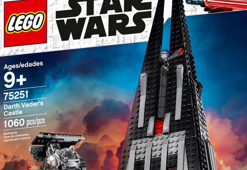 LEGO Star Wars Darth Vader Castle (75251) Now Listed at LEGO Shop@Home