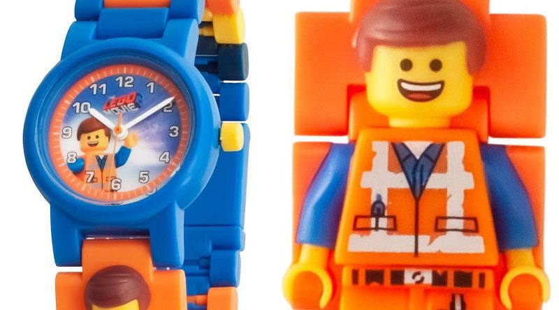 """New """"LEGO Movie 2"""" Watches from Licensed Manufacturer Clictime"""
