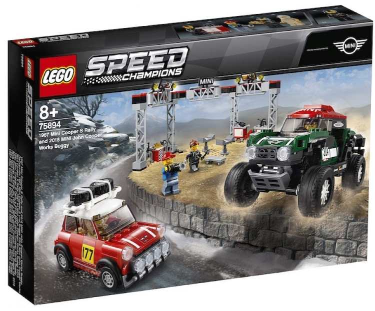 Next LEGO Sets on Sale at Amazon: 2019 Speed Champions Releases