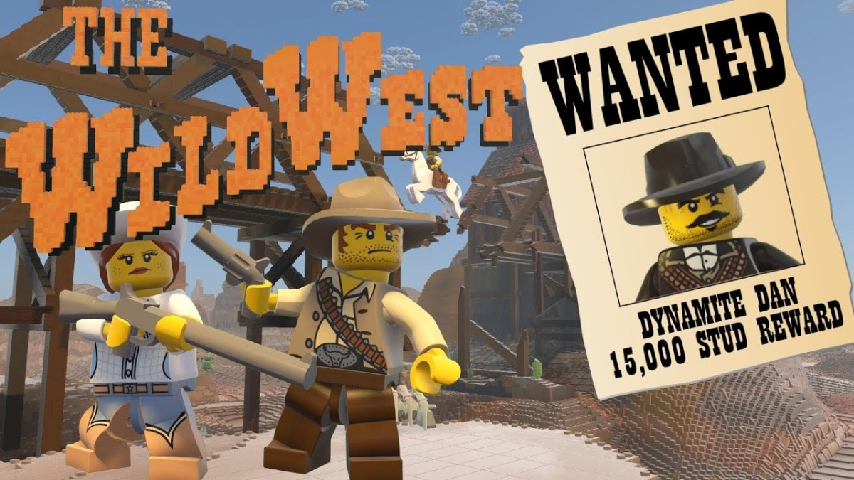 """LEGO Worlds"" Gets New Free Content with ""Wild West"" Theme"