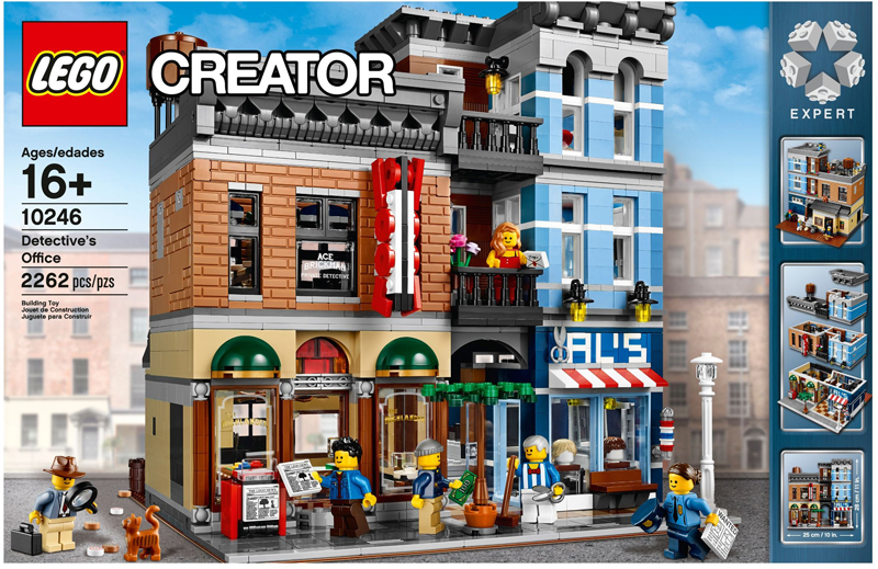 LEGO Creator Expert Detective's Office (10246) and Brick Bank (10251) Will Soon Retire