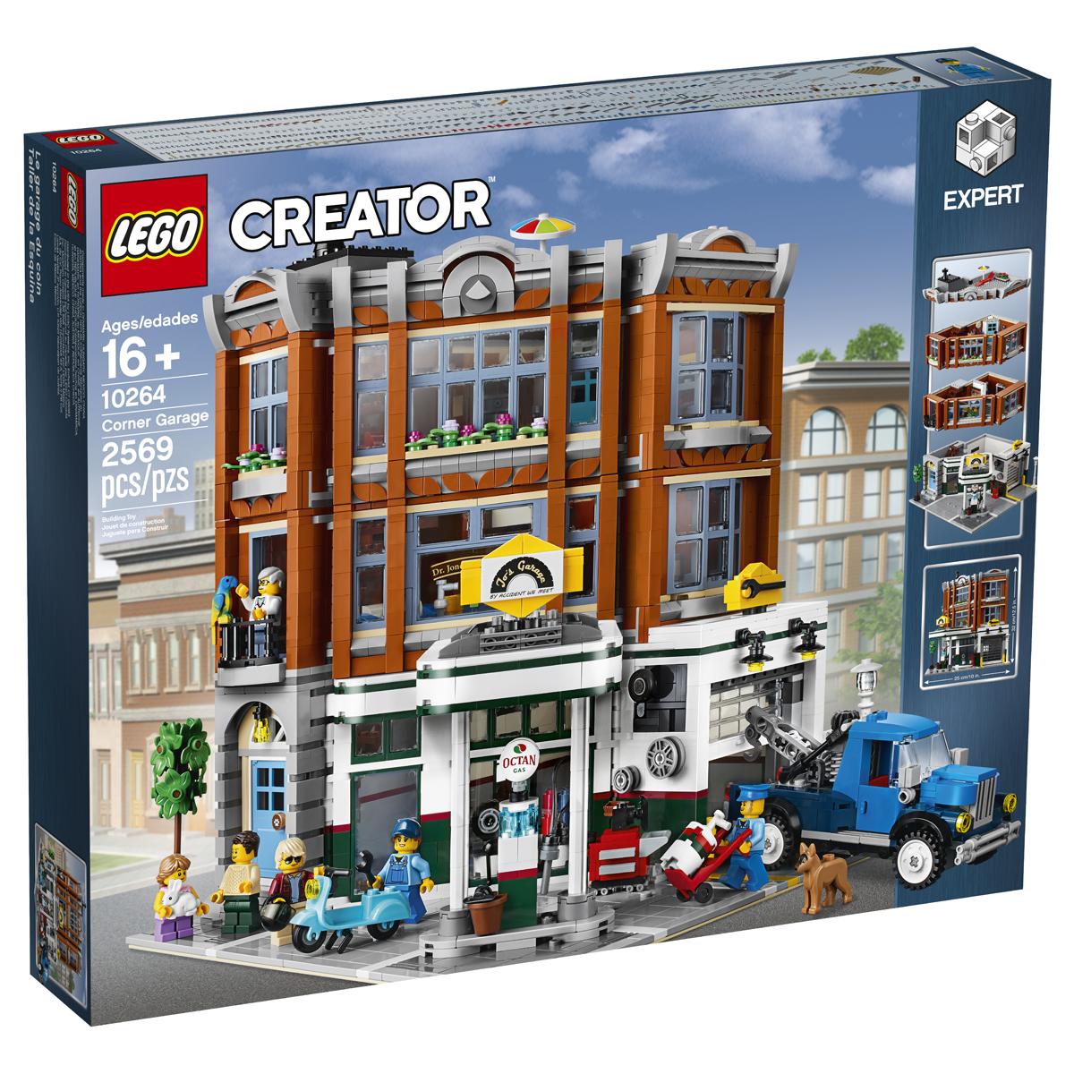 the lego creator expert corner garage 10264 is our next modular set. Black Bedroom Furniture Sets. Home Design Ideas