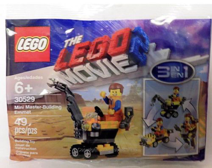 New Lego Movie 2 Mini Master Building Emmet 30529 Polybag Spotted