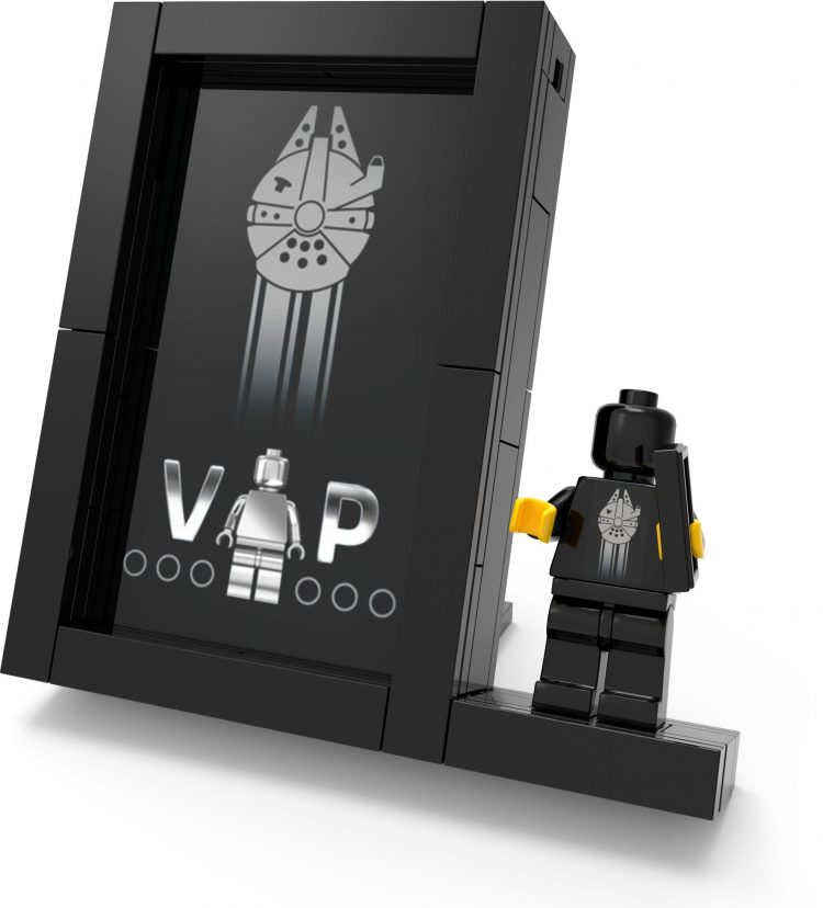 LEGO black VIP cards