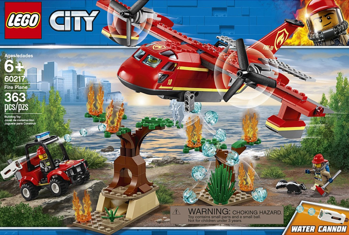 Here's Another 2019 LEGO City Firefighter Set – The Fire Plane (60217)