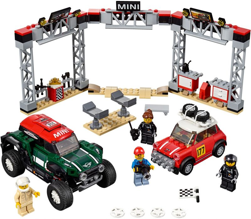 2019 LEGO Speed Champions Official Images and Complete Product Descriptions