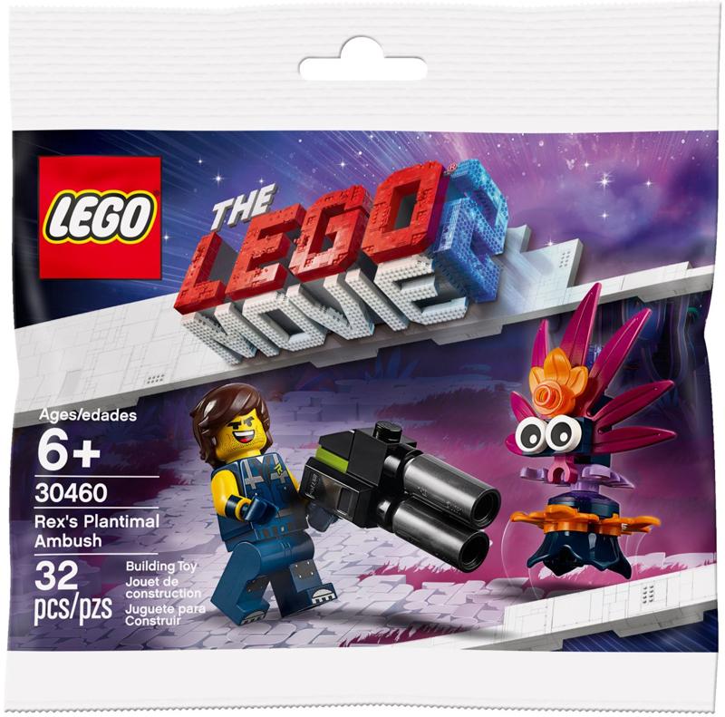 LEGO Movie 2 Rex Dangervest Plantimal Ambush (30460) Polybag Revealed