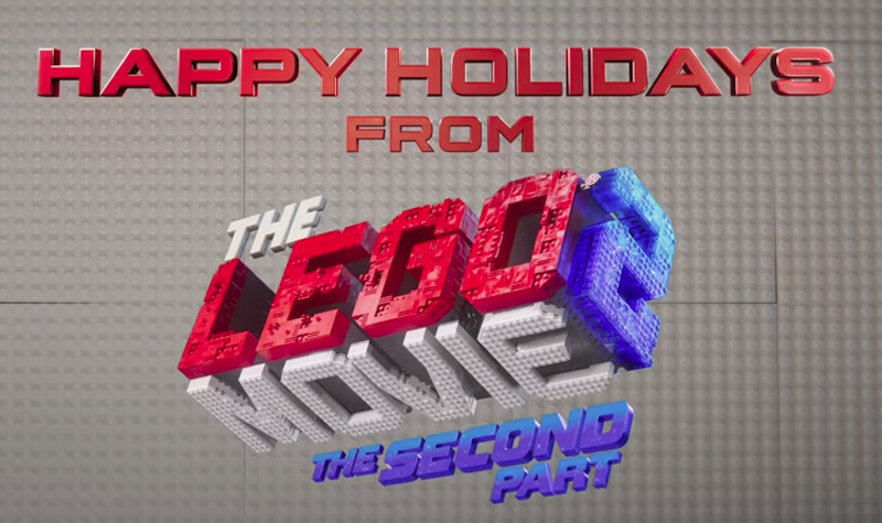 Have a Tinseltastic Christmas with The LEGO Movie 2's Emmet's Holiday Party