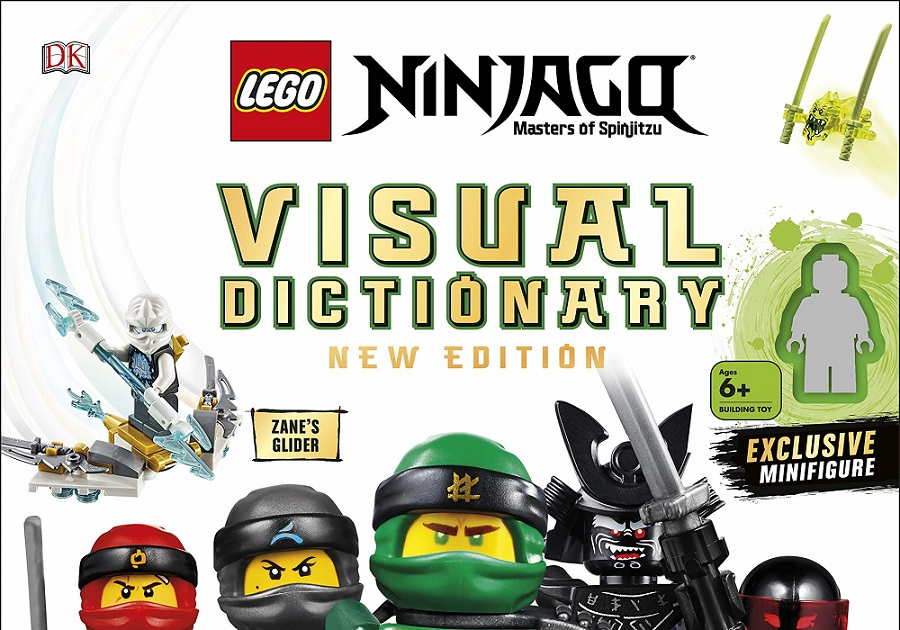 2019 to See New Edition of LEGO Ninjago Visual Dictionary