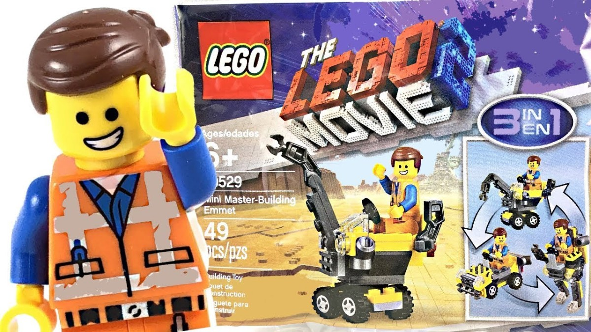 SPOTTED: New LEGO Movie 2 Mini Master-Building Emmet (30529) Polybag Found in Walmart and Target Stores
