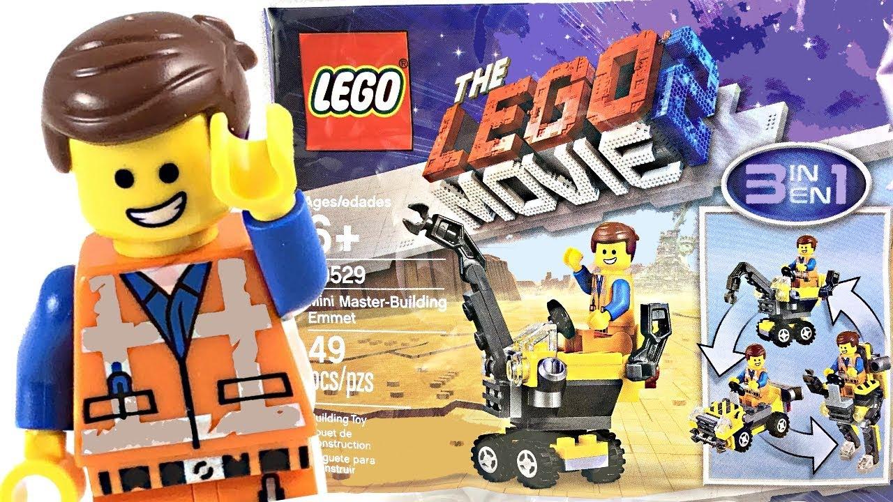 New Lego Movie 2 Mini Master Building Emmet 30529