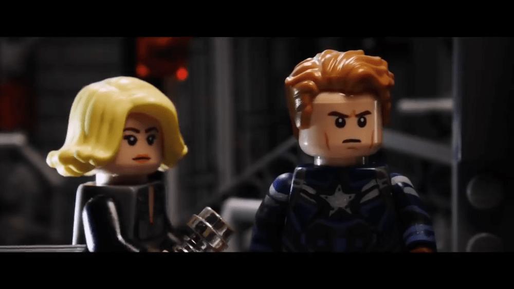 fan-made LEGO Avengers: Endgame trailers
