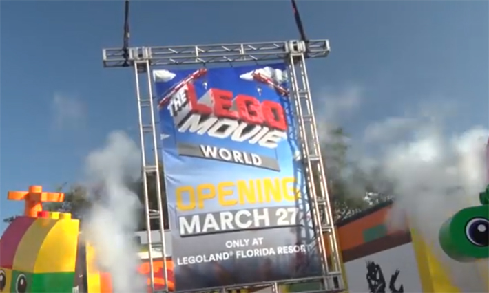 """LEGOLAND Resorts Expect Greater Ticket Sales Due to """"LEGO Movie 2"""" and Opening of LEGO Movie World in Florida"""