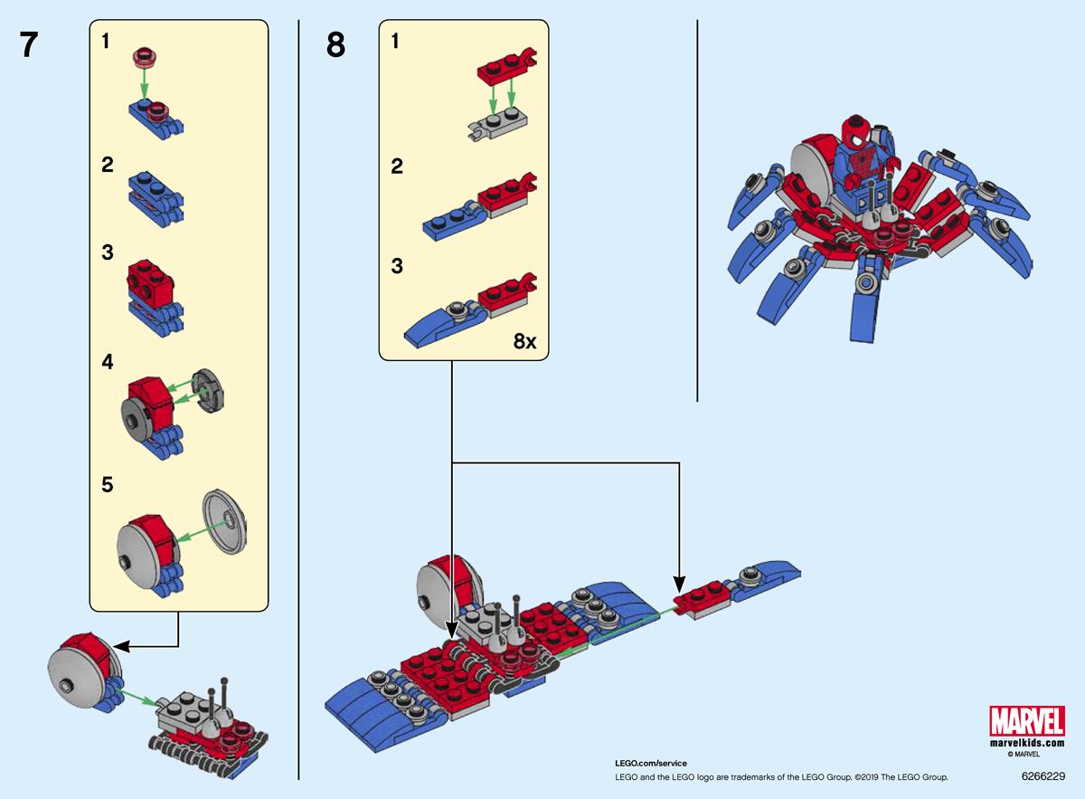 Lego 30451 Spider-Man/'s Mini Spider Crawler Polybag Brand New Sealed