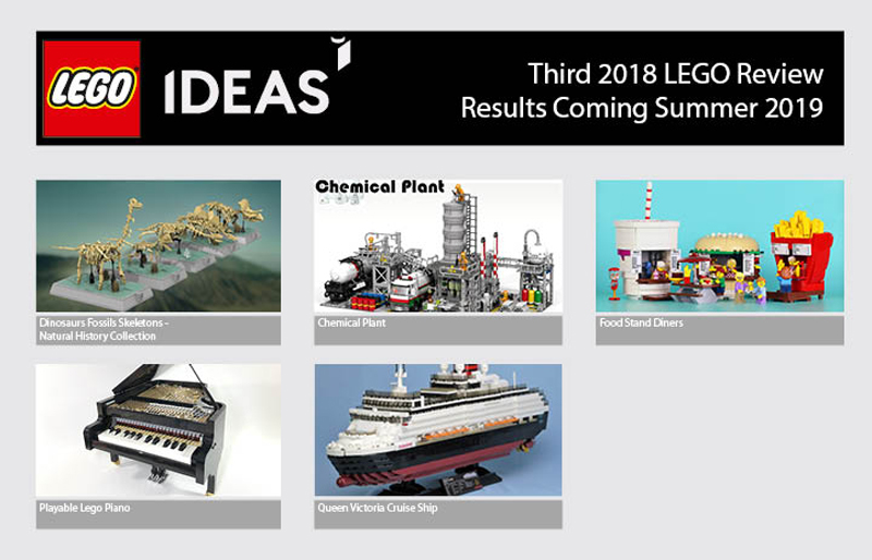 Third 2018 LEGO Ideas Review Stage