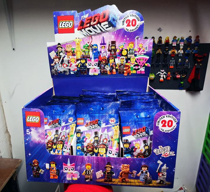 The Lego Movie 2 Collectible Minifigures 71023 Box Distribution