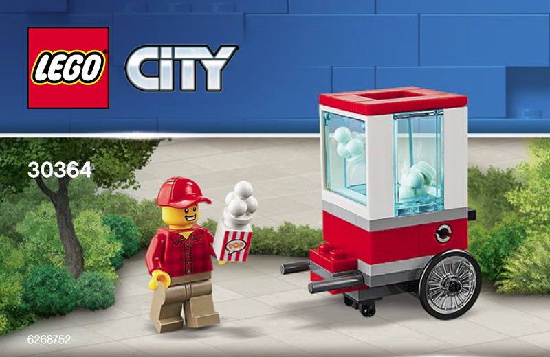 LEGO City Popcorn Cart (30364) Polybag Discovered