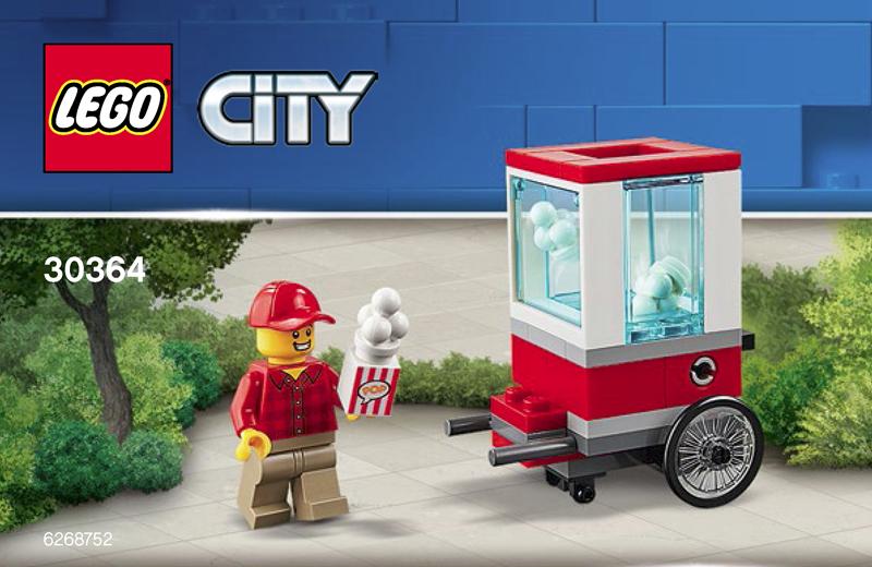 LEGO City Popcorn Cart (30364)