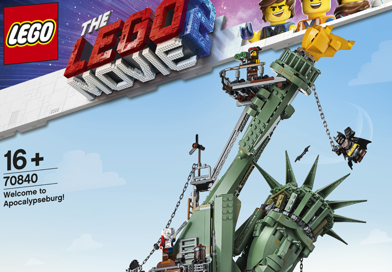 LEGO Movie 2 Welcome to Apocalypseburg (70840) Official Images and Product Description Released