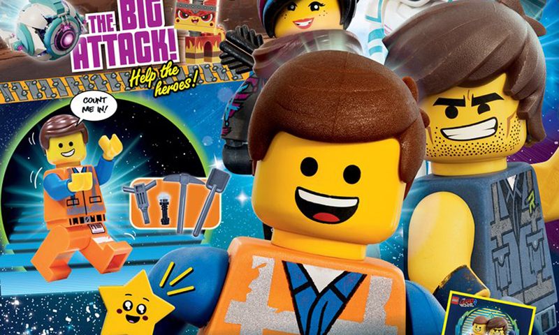 The LEGO Movie 2 Magazine To Be Released Next Week – Comes With An Exclusive Emmet Minifigure