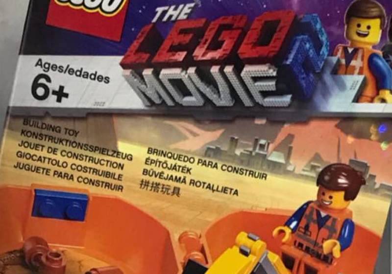 LEGO Movie 2 Emmet's Pod