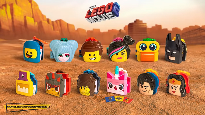 LEGO Movie 2 McDonalds Happy Meal Toys