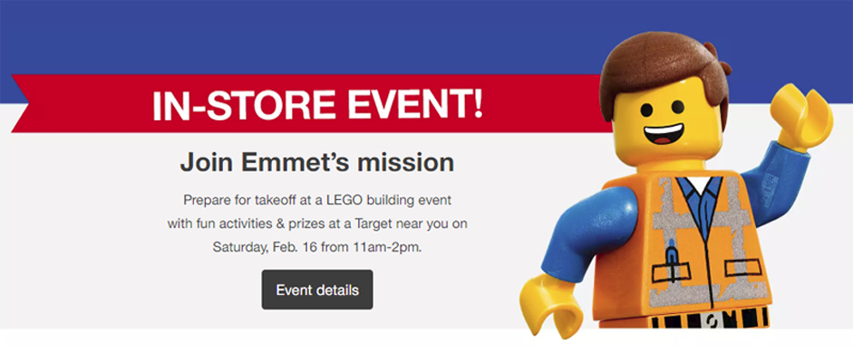 LEGO Movie 2 Building Events To Be Held At Select Target Stores