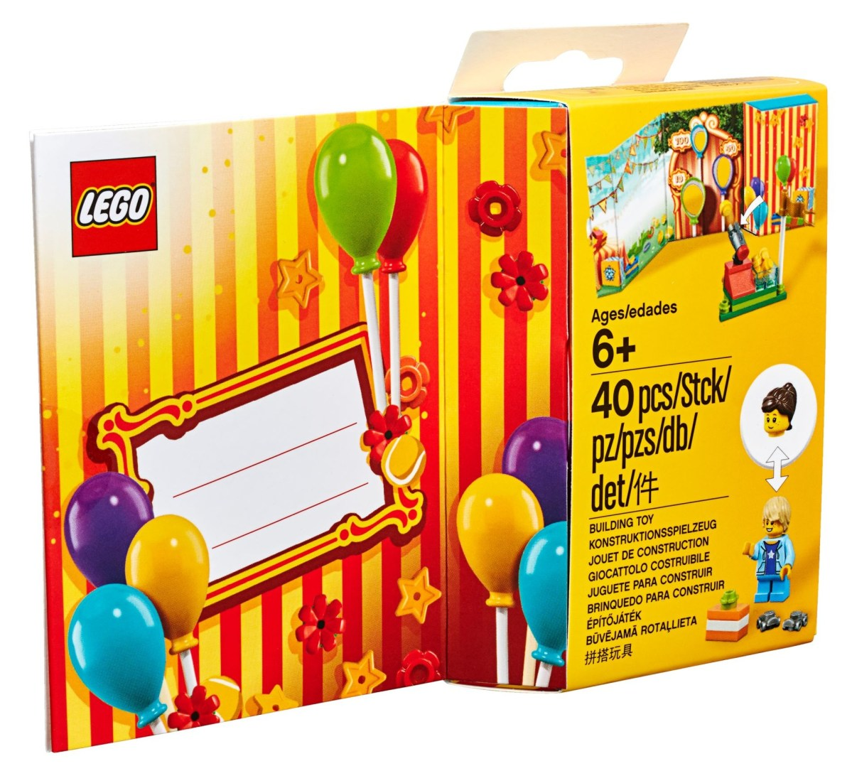 New LEGO Greeting Card (853906): Bricks and Minifigure Ensure this Correspondence Will See More Use and Play