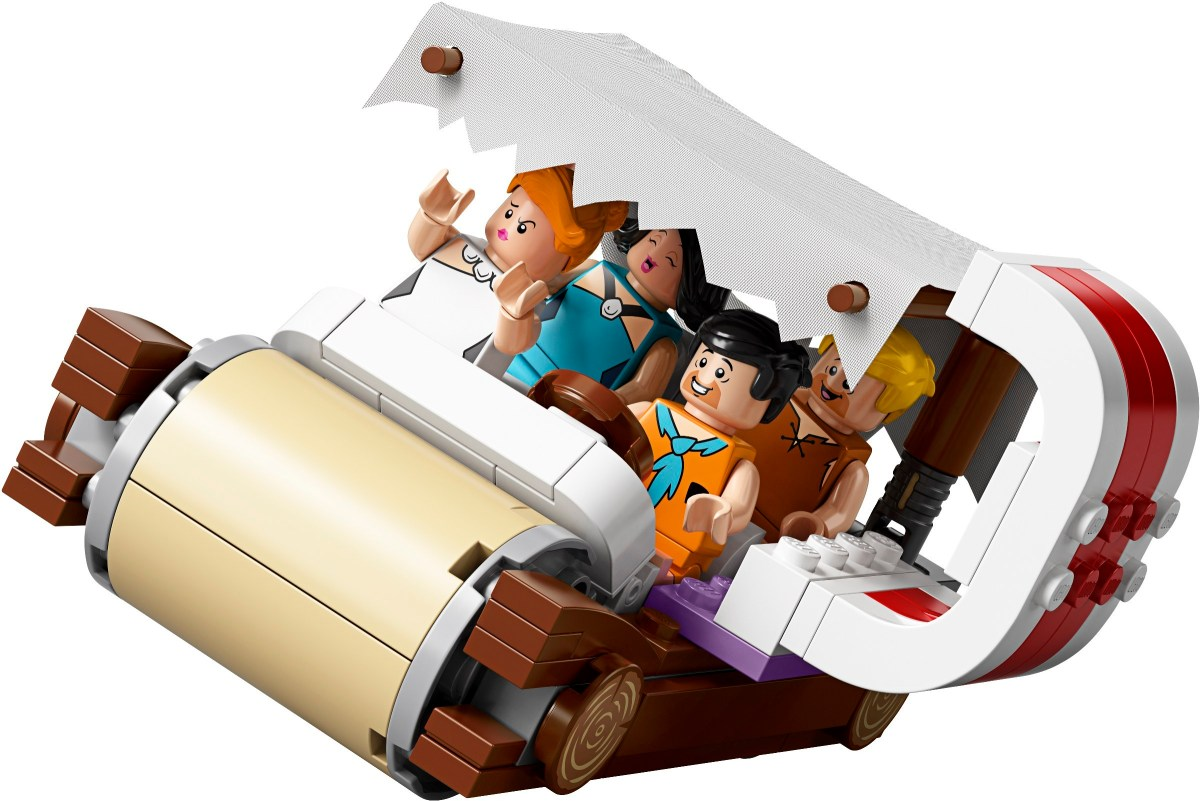 Designer Video for LEGO Ideas Flintstones (21316) Released