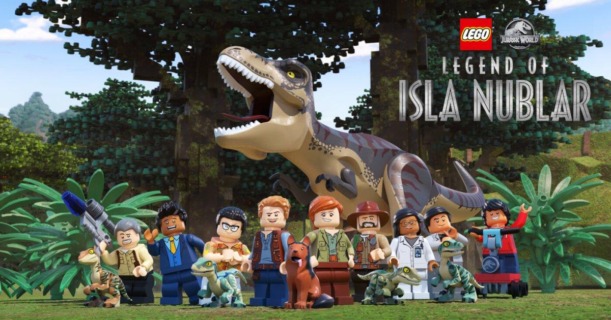 "Massive LEGO Jurassic World Set Reveals in Preparation for ""Legend of Isla Nublar"" Miniseries"