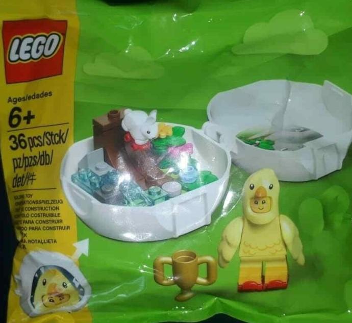 Details Out on LEGO Promo for Easter Seasonal Chicken Skater Pod (853958)