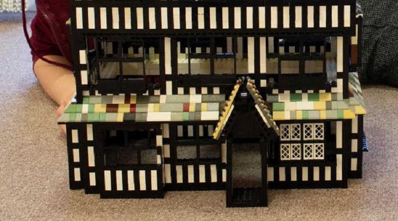 Hereford LEGO Builder Requesting Brick Donations to Complete Old House Model for Brick History Exhibition at Real Old House