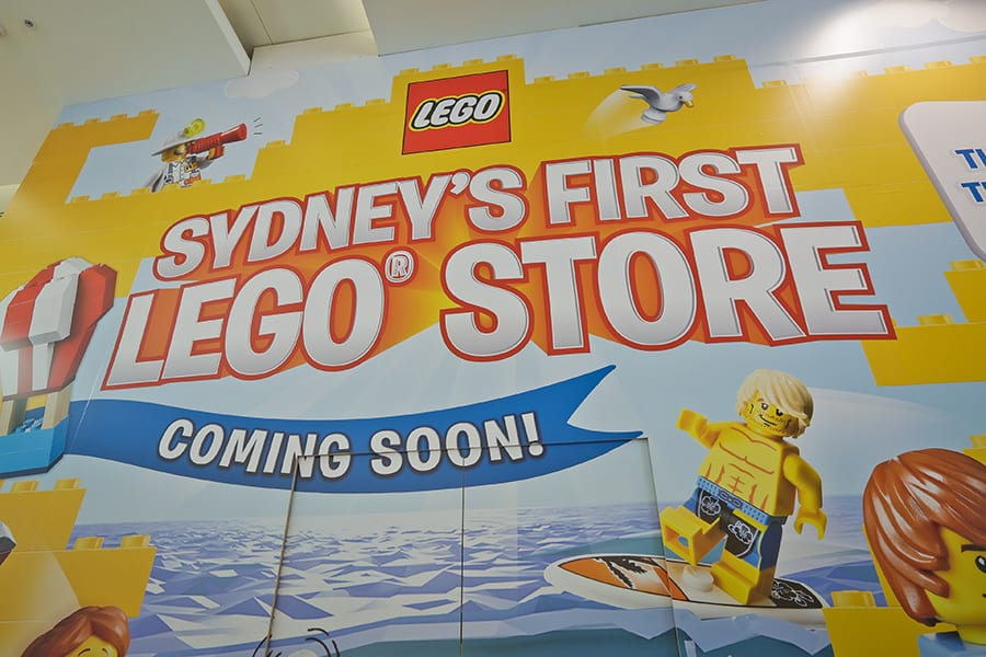 Australia Getting New LEGO Store Certified in Sydney