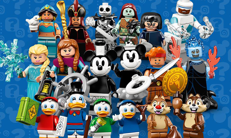 ALL CHARACTERS BRAND NEW LEGO DISNEY MINIFIGURE SERIES DUCKTALES!