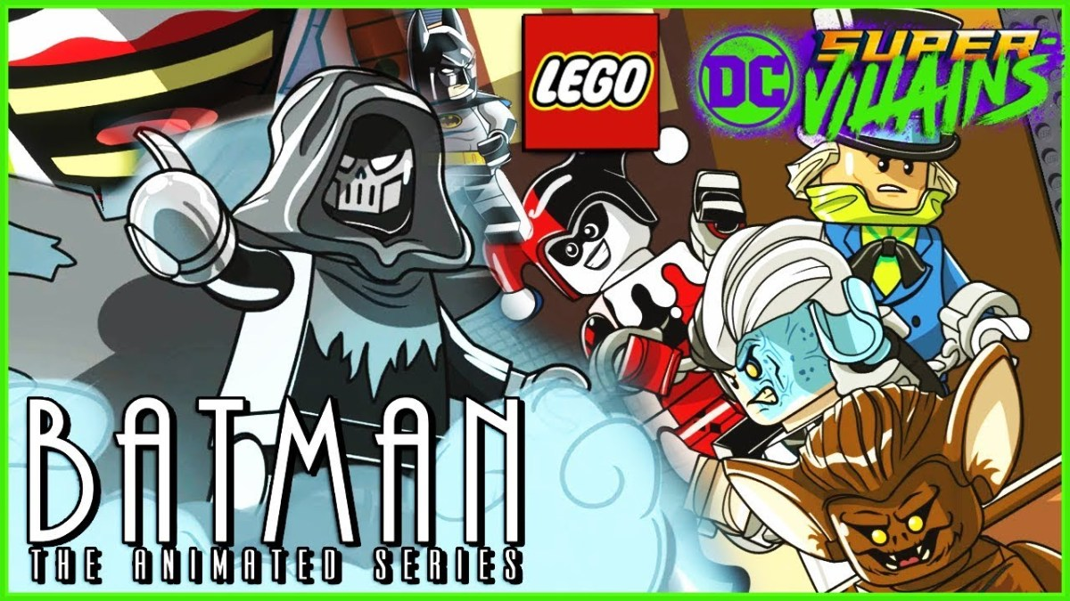Batman: The Animated Series DLC Pack Now Available for LEGO DC Super-Villains