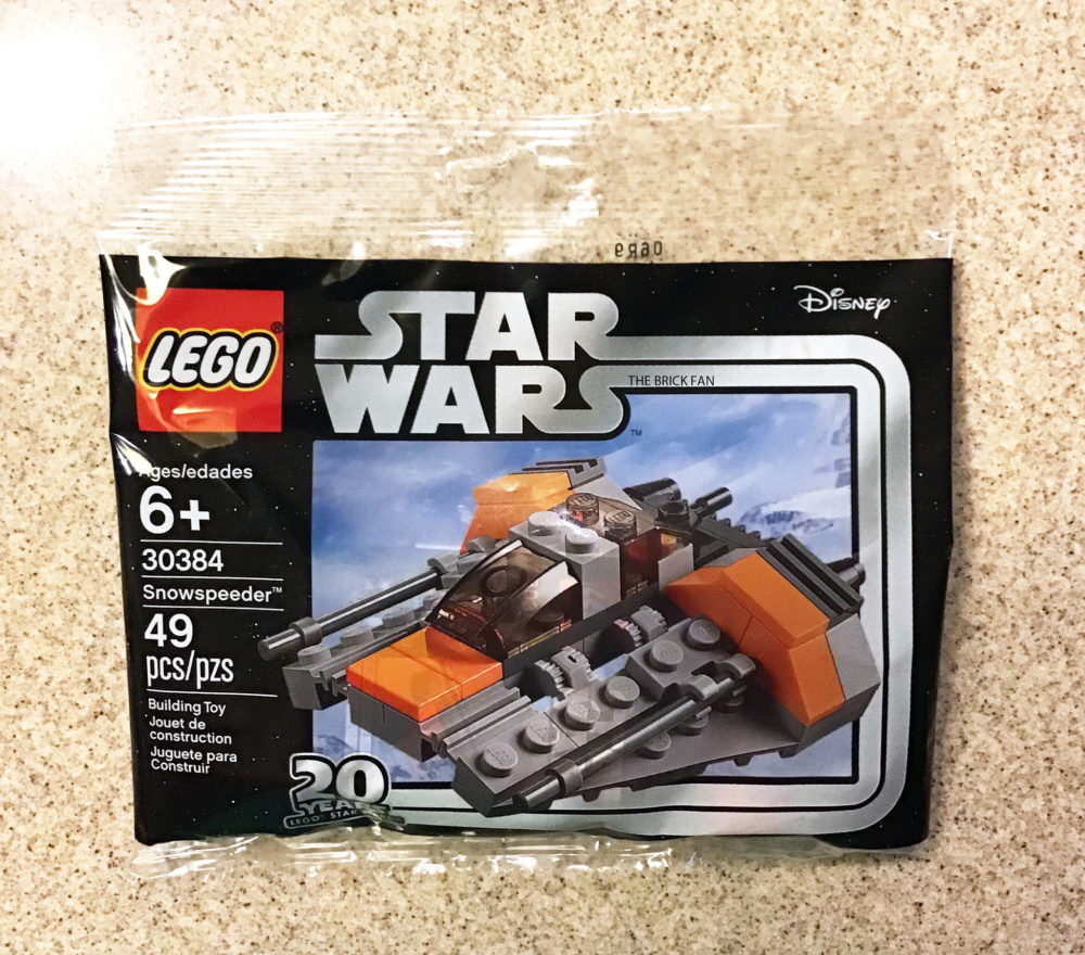 New LEGO Star Wars 20th Anniversary Edition Polybag Found – Snowspeeder (30384)
