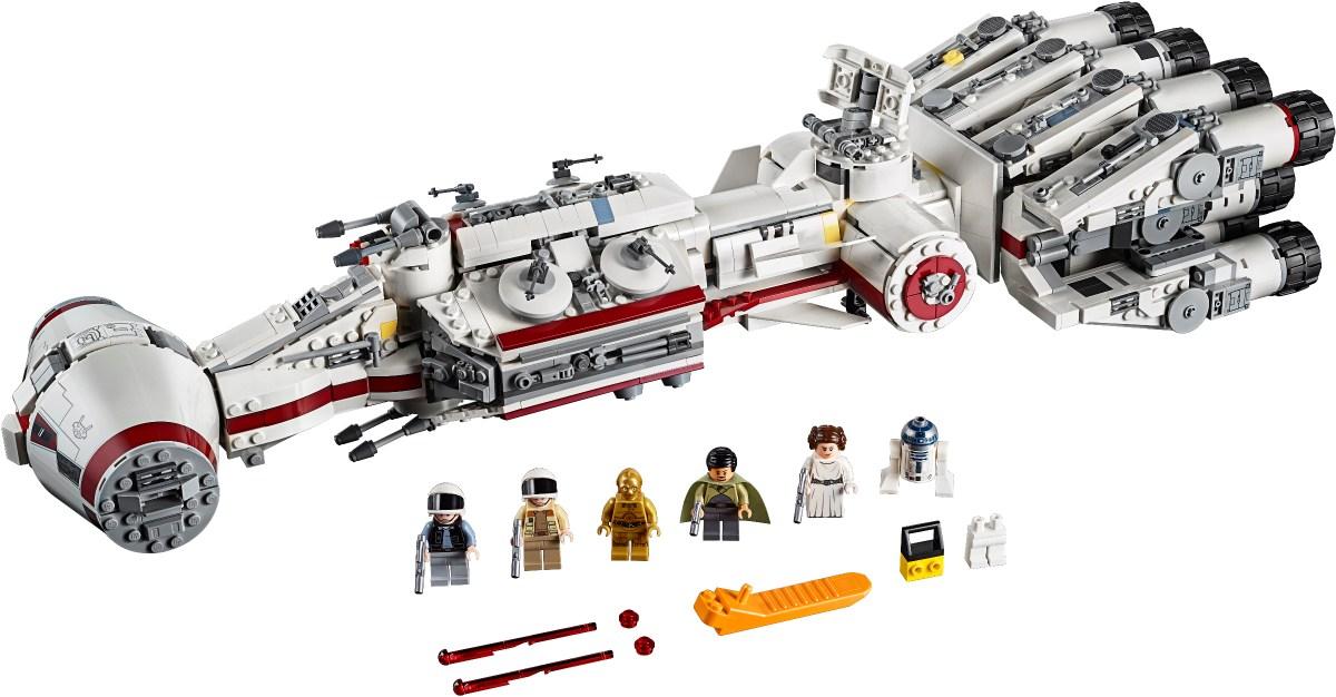 Designer Video Released for LEGO Star Wars Tantive IV (75244)
