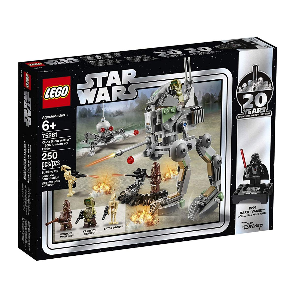 Amazon Sale Discounts LEGO Star Wars Clone Scout Walker (75261) 20th Anniversary Edition