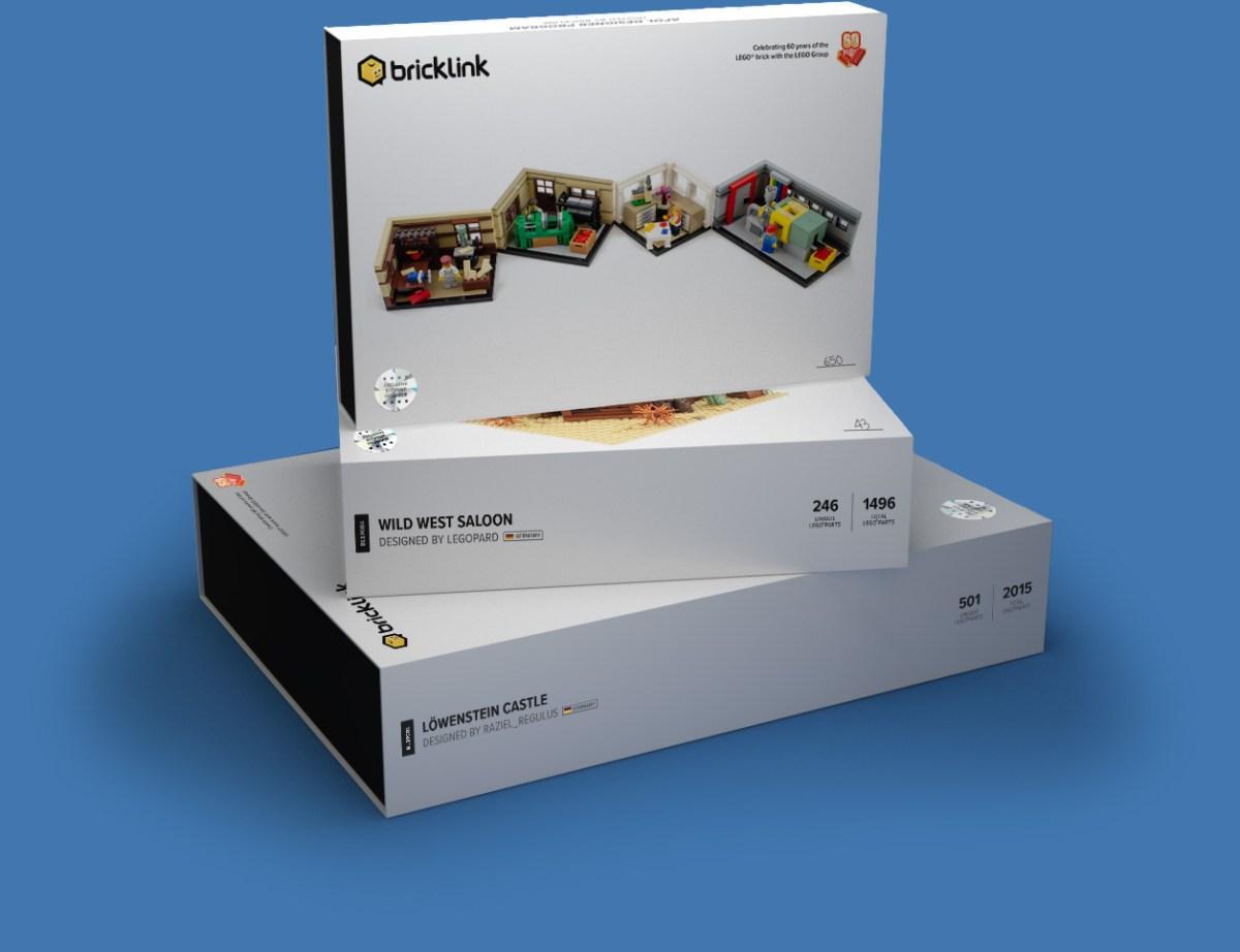 Official Packaging Design for LEGO Bricklink AFOL Designer Program