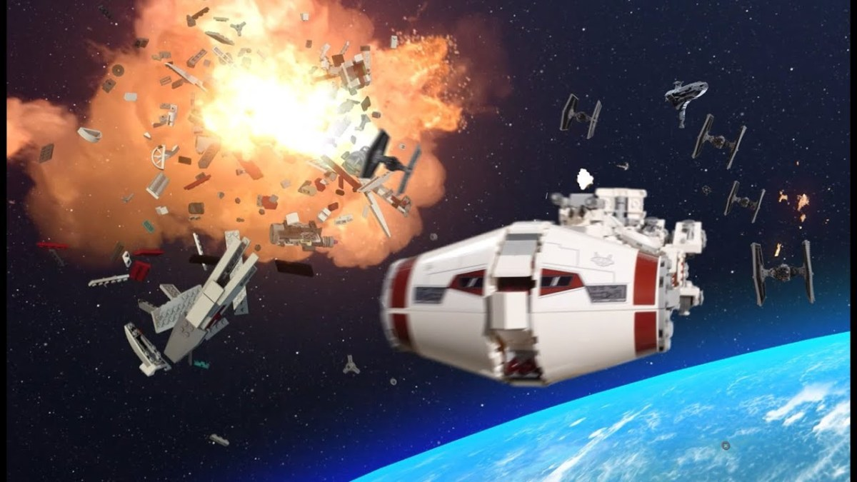 Lego Promotes Star Wars Tantive Iv Set 75244 With Stop Motion Video Evoking Rogue One For Kids The Brick Show